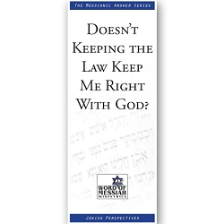 Doesn't Keeping the Law Keep Me Right With God?